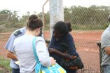 Checking in passengers travelling to Nhulunbuy