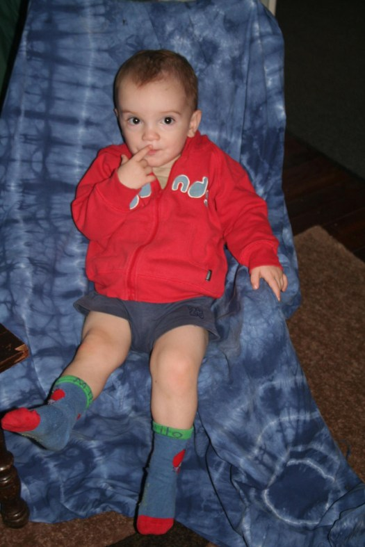 Socks and a jumper! It was chilly here.