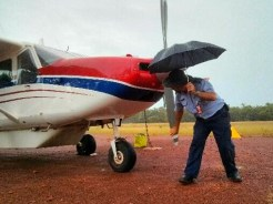 Dailying the plane in the rain