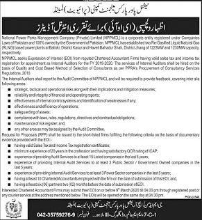 Parks Management Company Jobs 2020