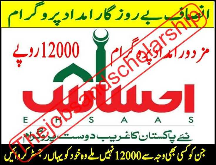 Ehsaas Labour Program Jobs 2020