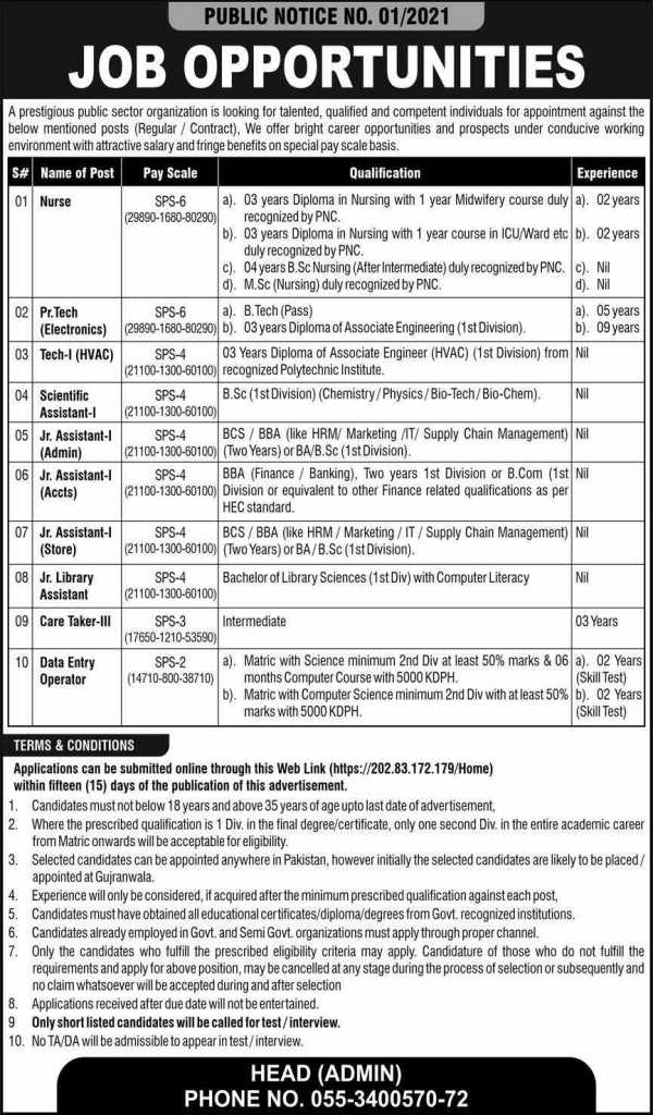 Pakistan Atomic Energy Jobs 2021