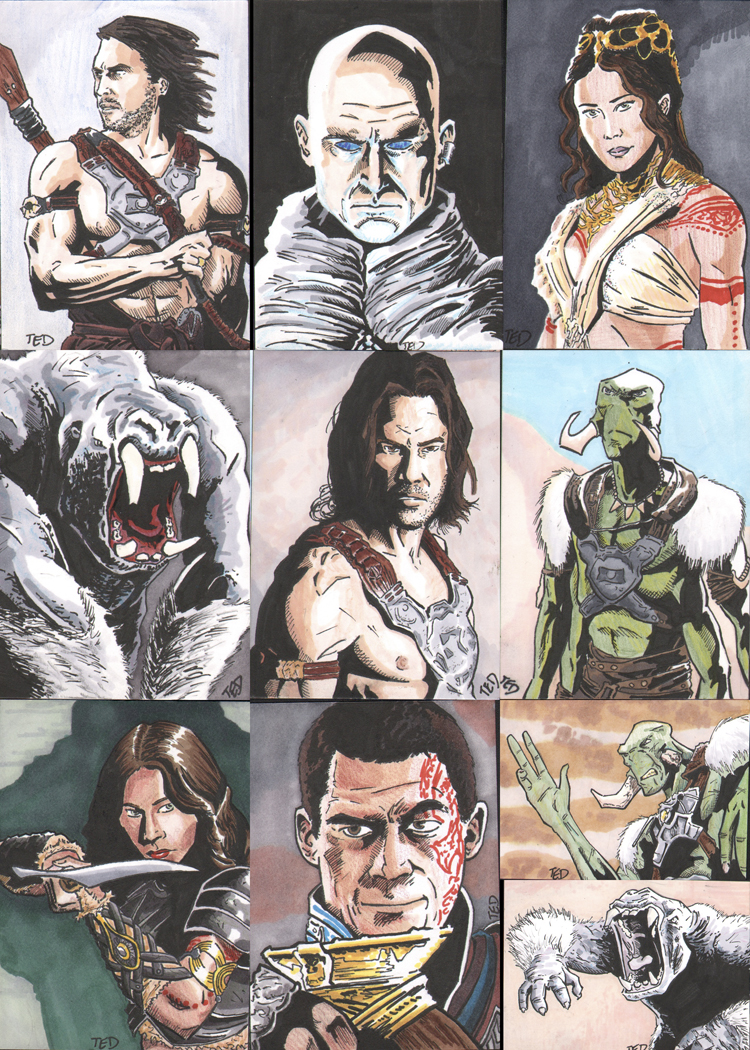 john_carter_movie_sketch_cards_by_dantereader-d4sgwnl