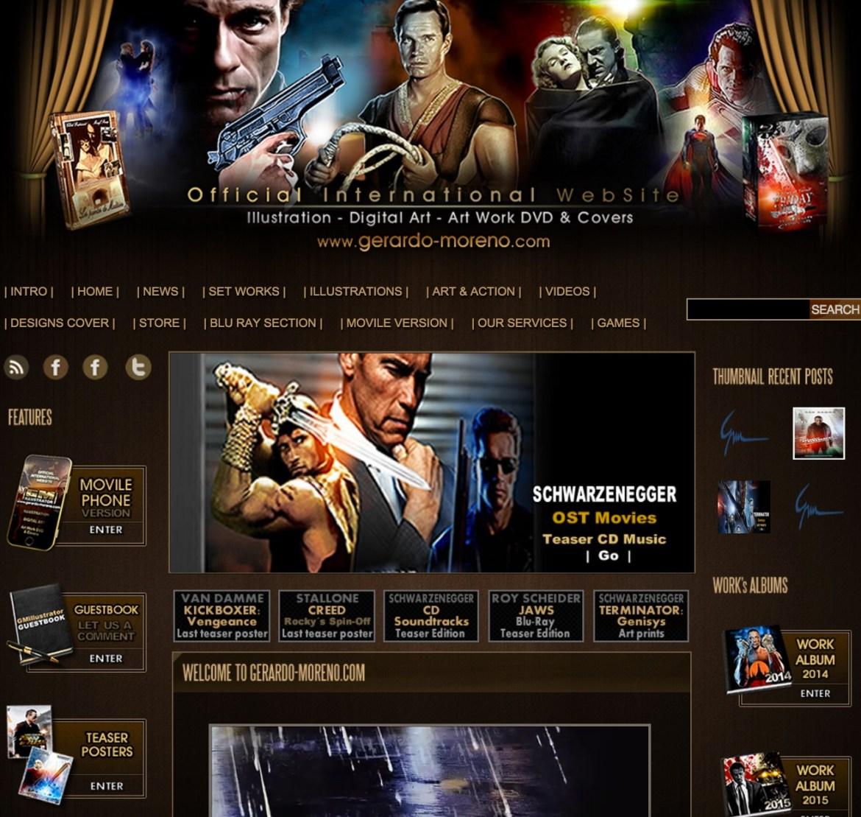 Gerardo-Moreno Website