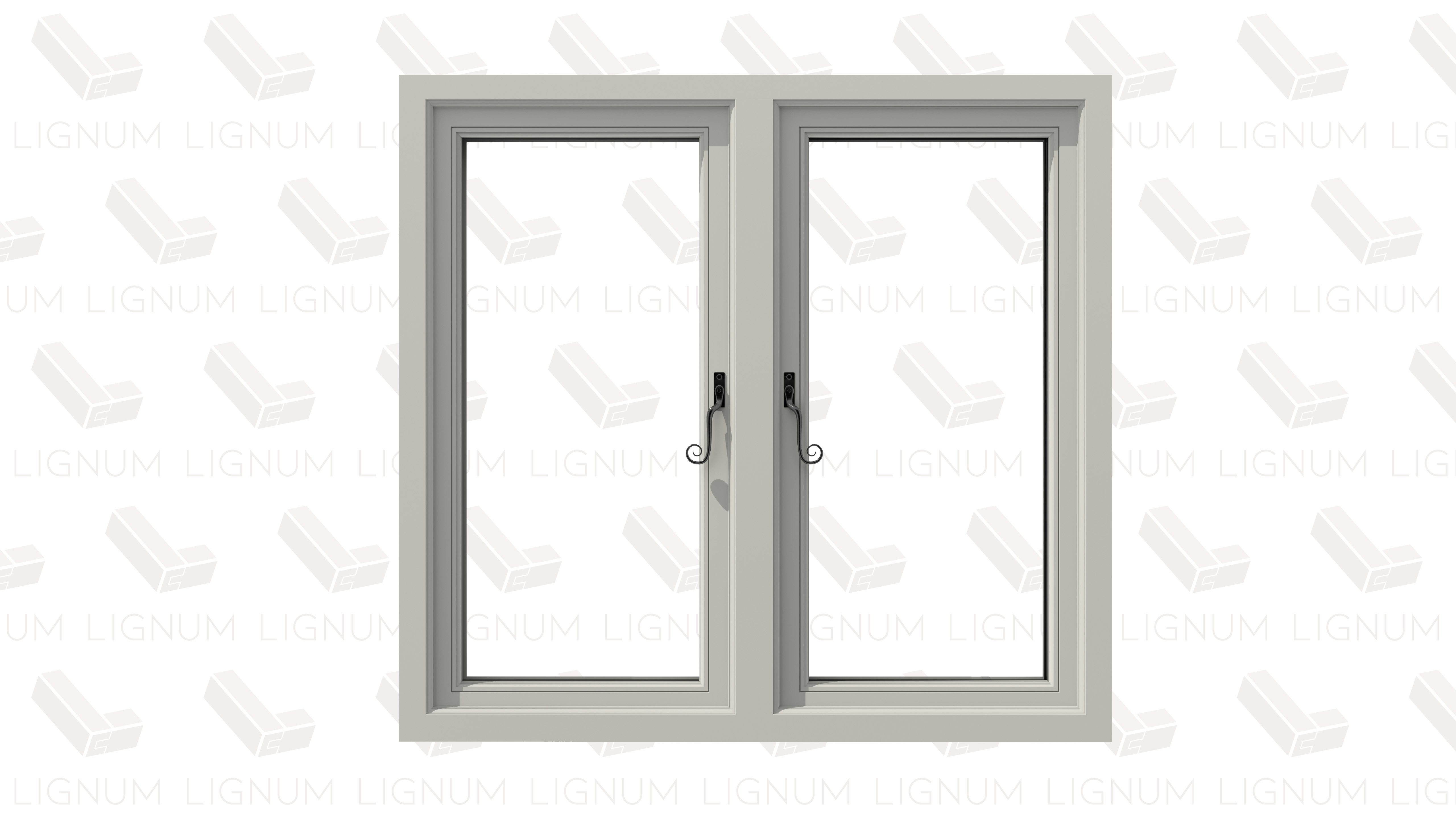 Timber flush sash casement windows