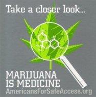 americans-for-safe-access-take-a-closer-look-marijuana-is-medicine-logo