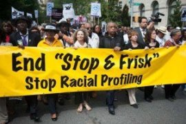 Advocates marching for an end to New York's 'Stop and Frisk' Policy in January