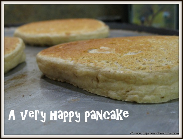 A happy pancake after recipe revision