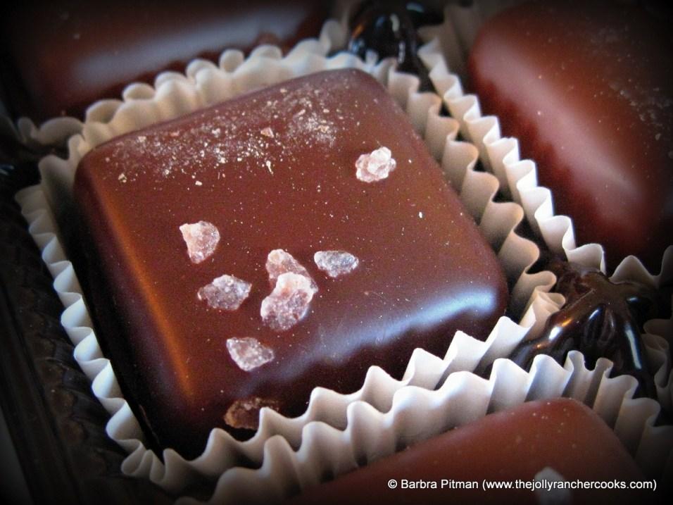 Dark Chocolate Caramel with sea salt