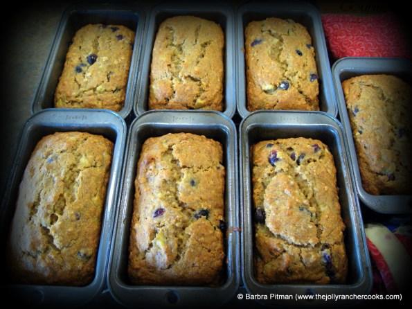 Blueberry Banana Bread- Gluten Free