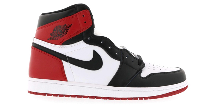 "Air Jordan 1 Retro High OG ""Black Toe"" (GS)"