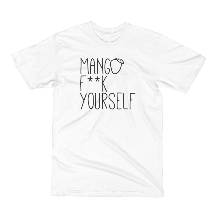 Limited Edition White Mango Tee (Unisex)