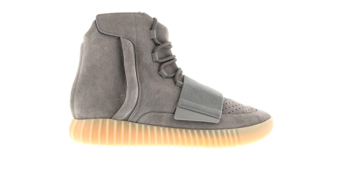 "Adidas Yeezy Boost 750 ""Light Grey Glow In The Dark"""