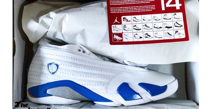 """Air Jordan Retro 14 Low """"Pacific Blue"""""""