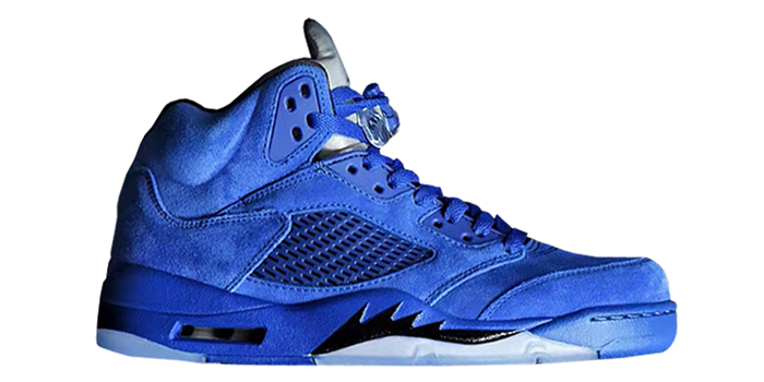 "Air Jordan Retro 5 ""Blue Suede"""