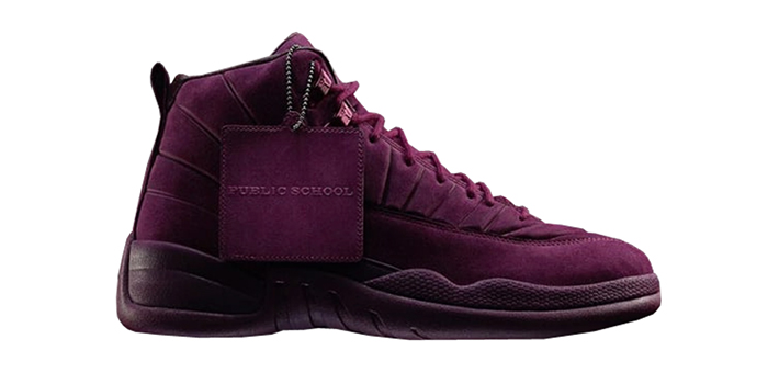 "Air Jordan Retro 12 ""PSNY Bordeaux"""