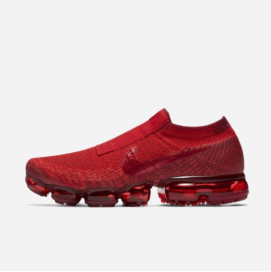 "Nike Air Vapormax SE Laceless ""University Red"""