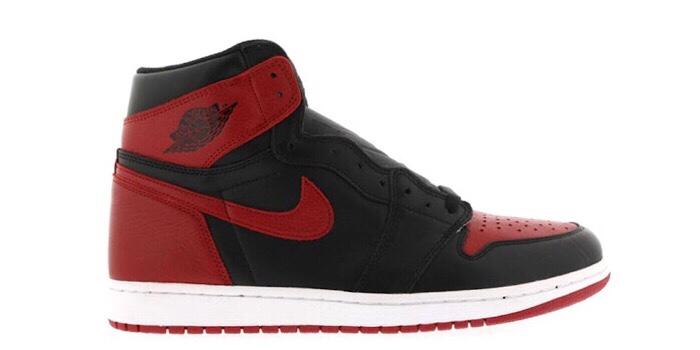 "Air Jordan Retro 1 ""Banned"" ('16)"