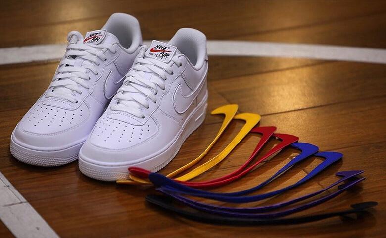 Nike Air Force 1 Goes Velcro – The Jordan Rack