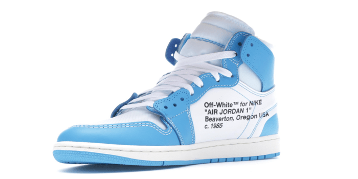 "new products c8333 83cf6 Air Jordan Retro 1 ""Off-White University Blue"""