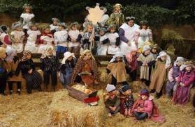 A traditional Sunday school nativity play