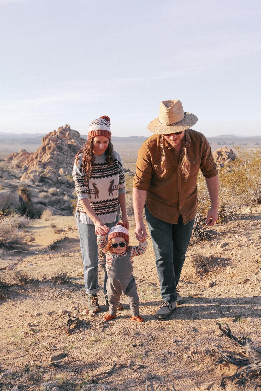 The Cosmic American Family's favorite trails in Joshua Tree, CA