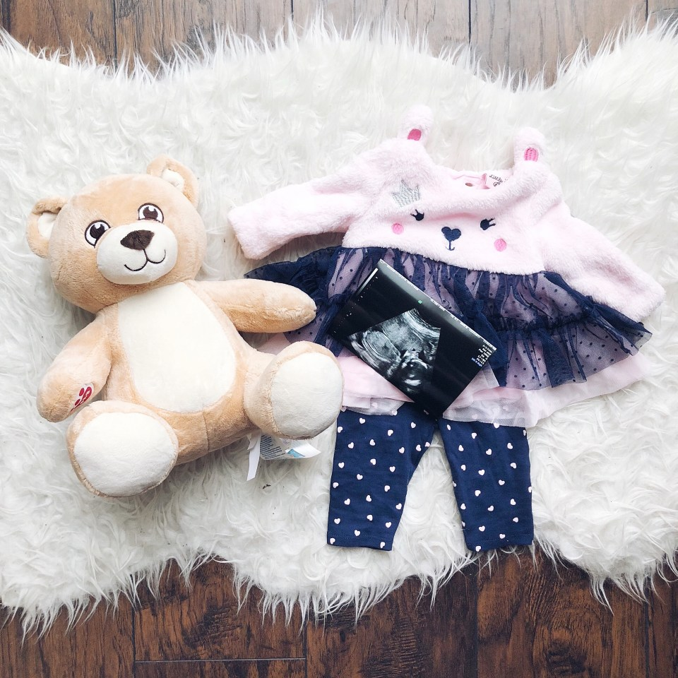 Our Christmas present gender reveal: We're having a GIRL!