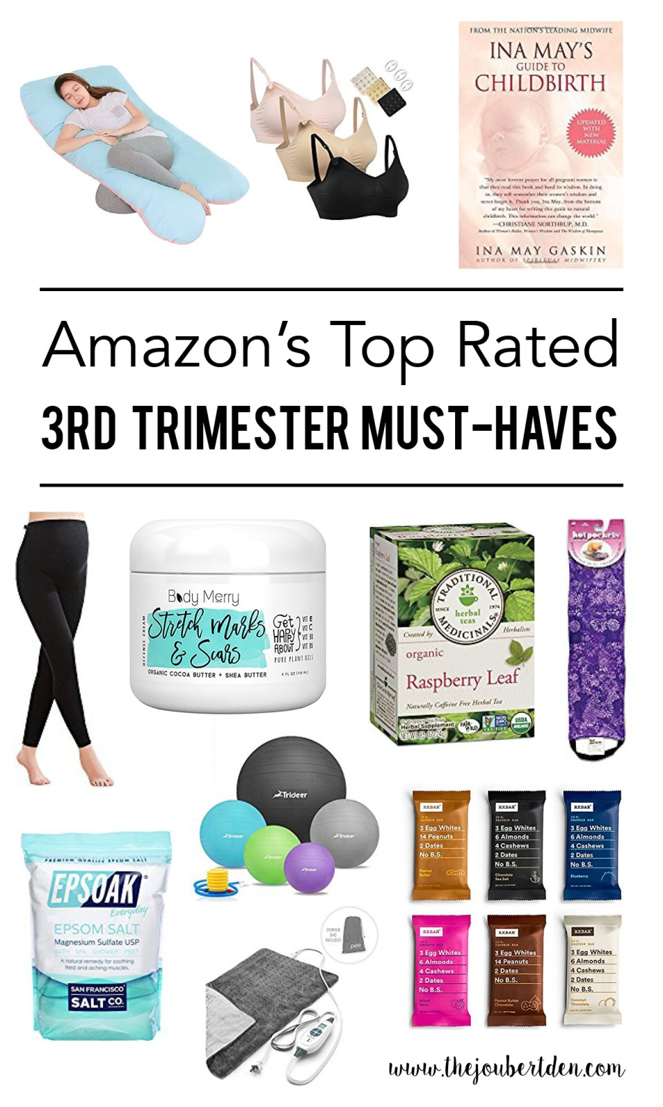 Amazon's Top Rated 3rd Trimester Must-Haves