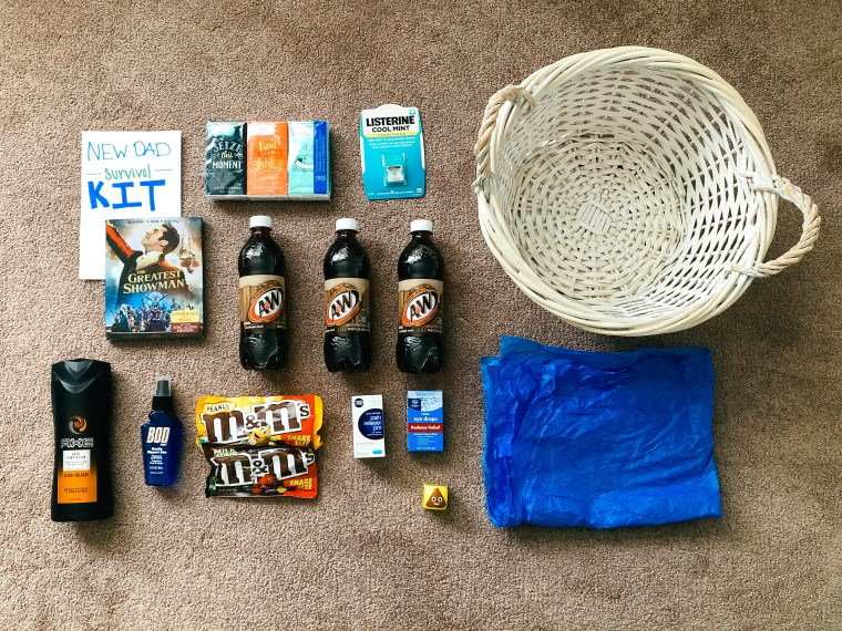 How To Make A New Dad Survival Kit Your Husband Will Absolutely Love