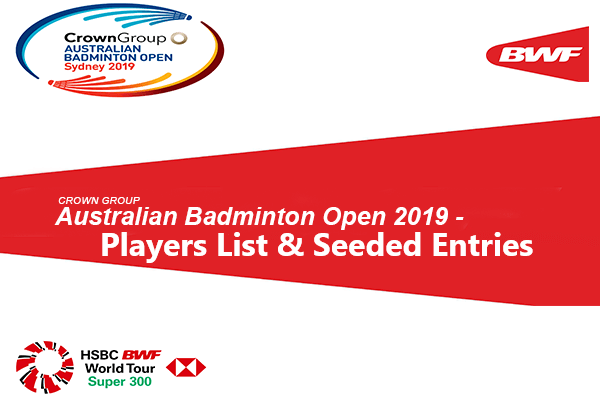 Australian Badminton Open 2019 Players