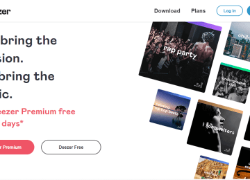 Deezer Free music download