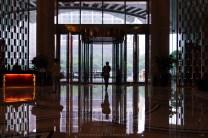 A hotel's entrance in Guangzhou, China.