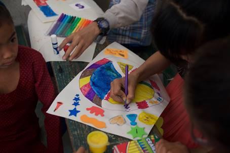 Art in Nepal 01