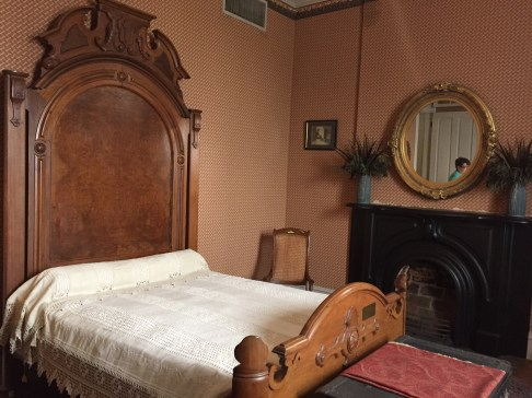 This bed belonged to Civil War general, Nathaniel Bedford Forest.