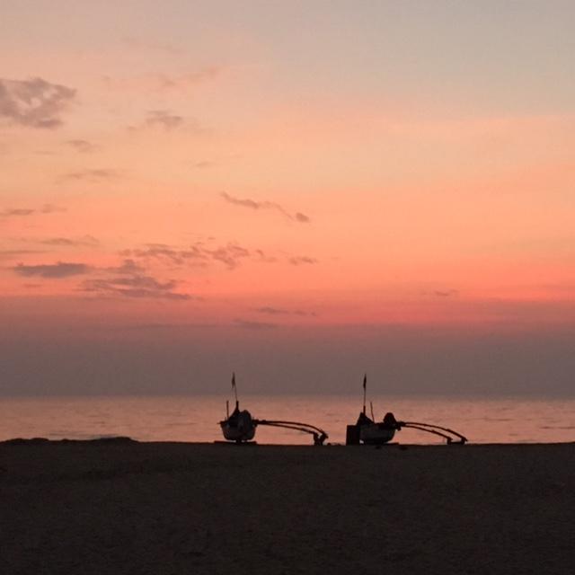 Sunset on Agonda Beach