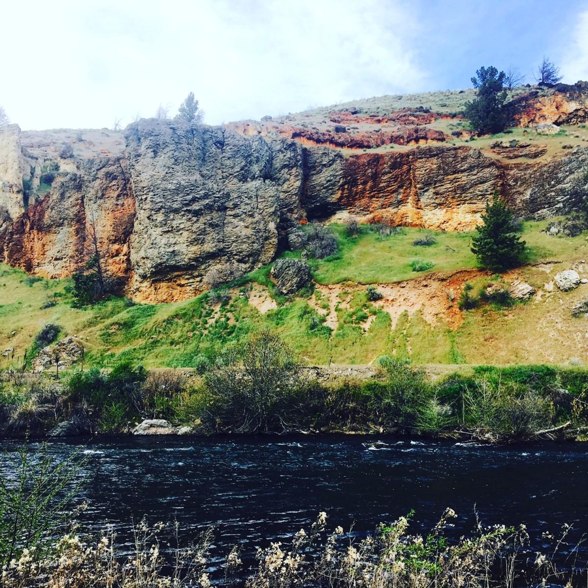 The Deschutes River near Madras, Oregon