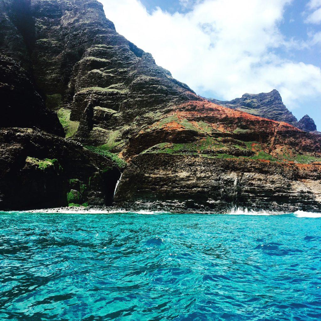 The many colors of the Na Pali Coast