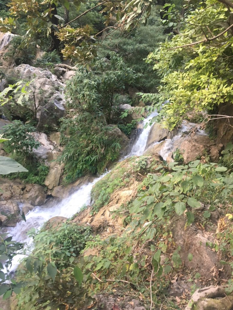 Neer Gaddu Falls in Rishikesh