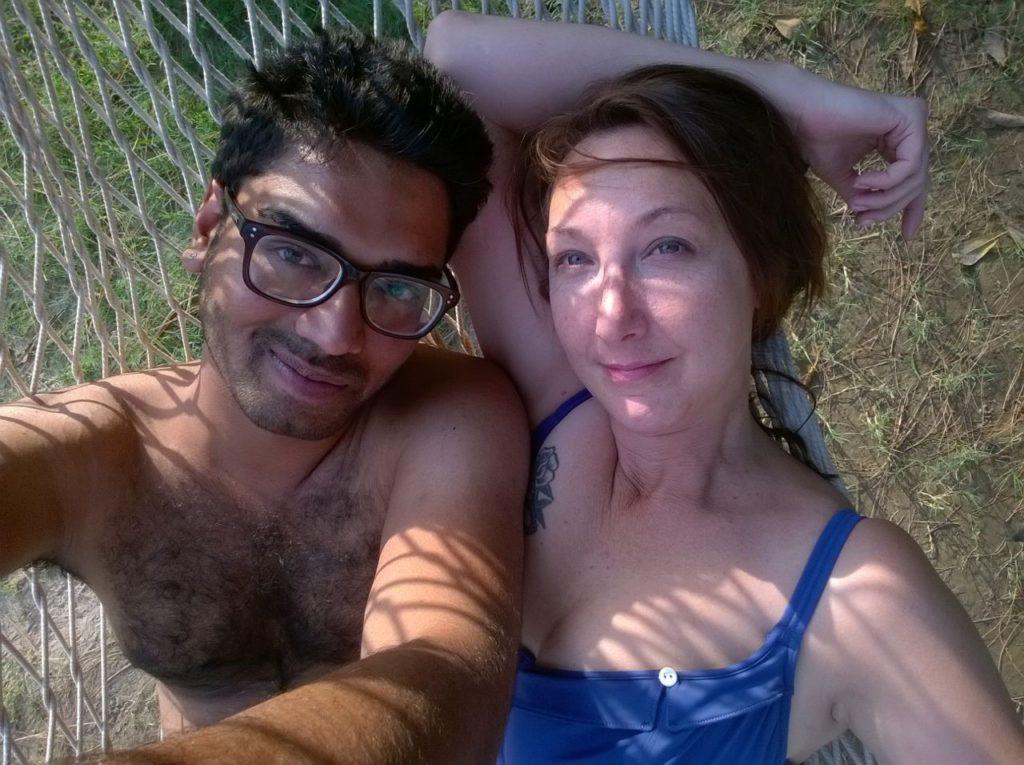 Kirti and I