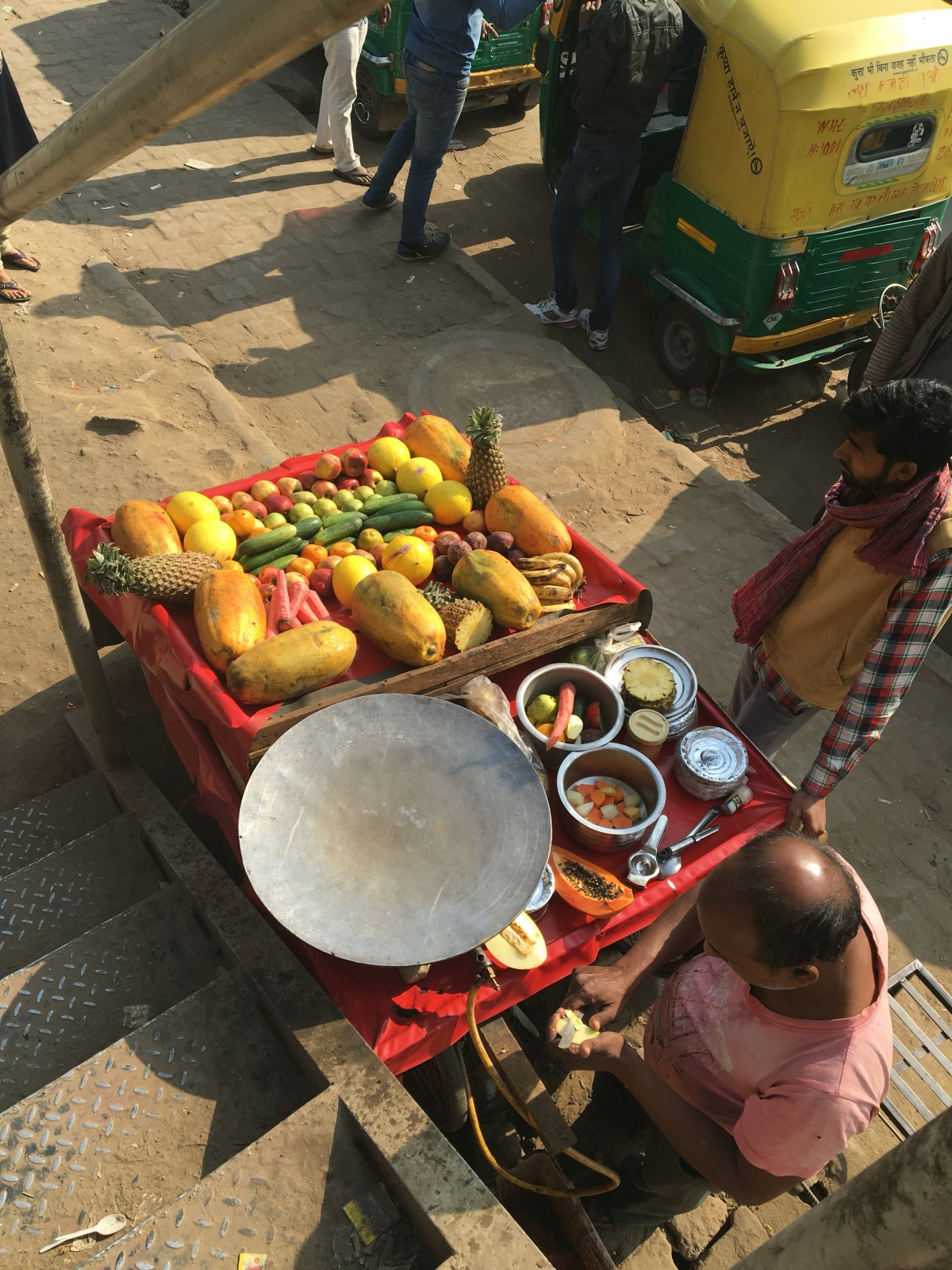 Fruit Cart in India