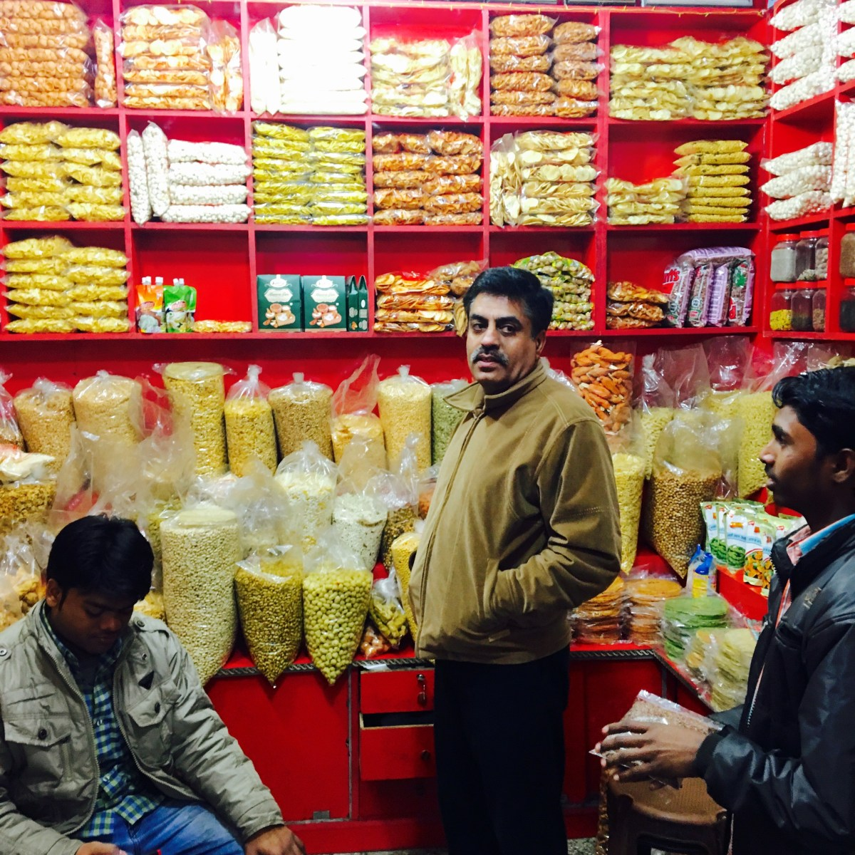 Store selling pulses (grains)