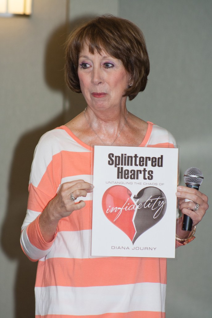 Diana Journy | Splintered Heart Book Opportunity | a Book about Infidelity