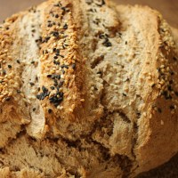 Artisan Bread with Garlic and Thyme