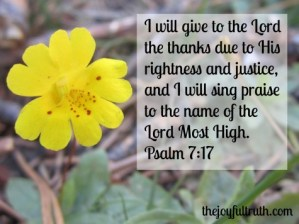 Thankfulness In Need