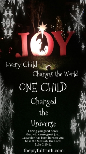 One Child Changed The Universe