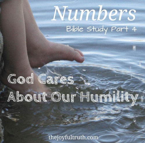 God cares about our humility because it is our pride that keeps us from seeing our need for Him!