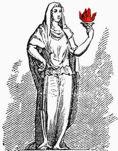 Hestia, gardienne du feu intérieur
