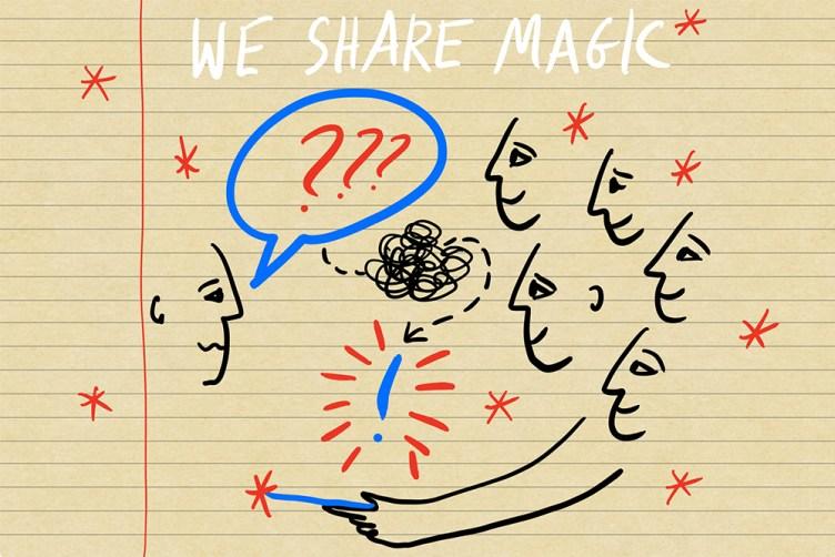 We share Magic