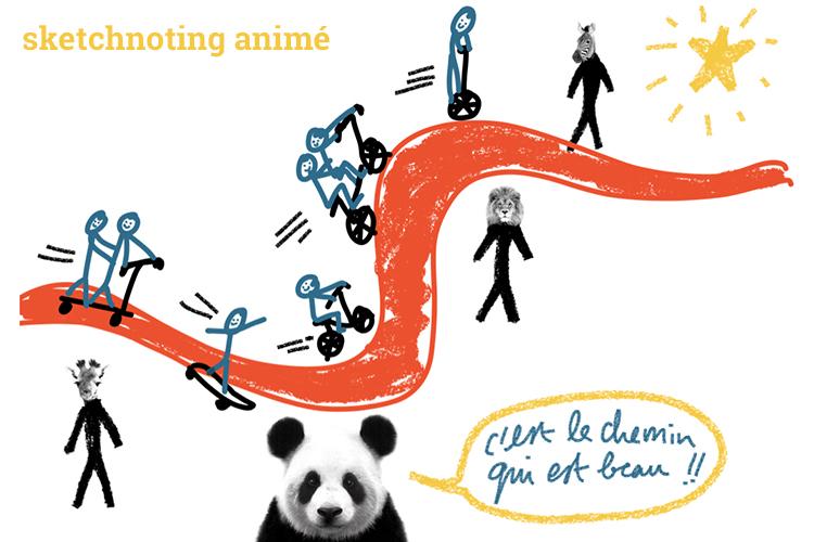Sketchnoting animé