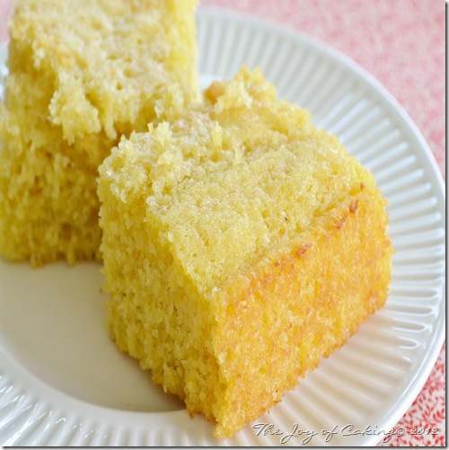 cornbread and blueberry cake 009
